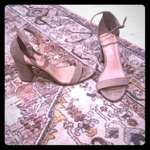 Madden Girl Nude Strapy Heel